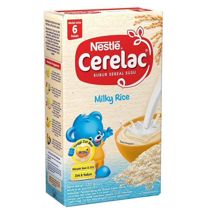 Nestle Cerelac Bubur Bayi 6 8 12 120 Gr All Varian