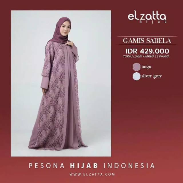 Gamis Sabela Elzatta Shopee Indonesia
