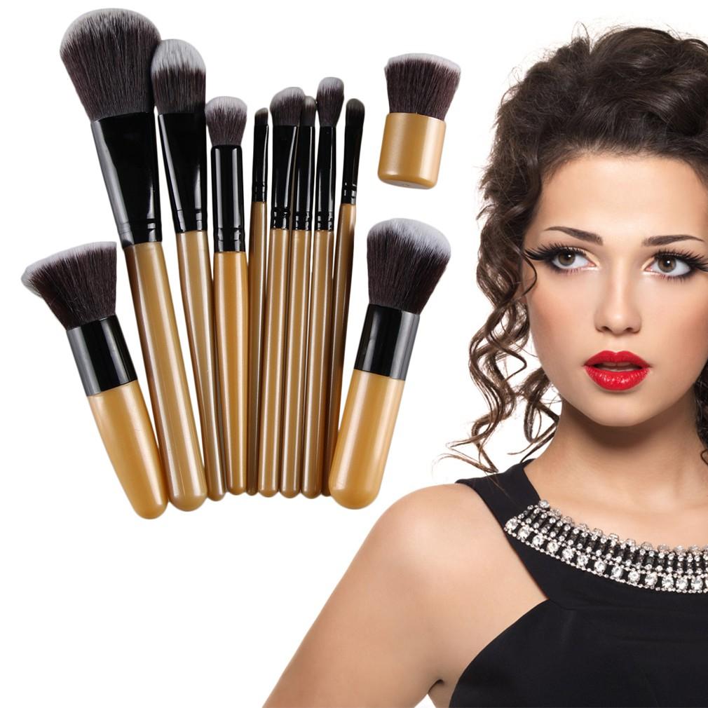 Niceeshop Wajah Makeup Kosmetik Powder Brush Set 7pcs Shopee Kuas Lipstick Sikat Alis 3 Guna Indonesia