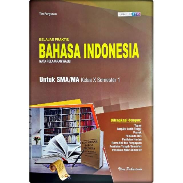 Lks Bahasa Indonesia Sma Ma Kelas 10 Semester 1 Iviva Pakarindo Shopee Indonesia