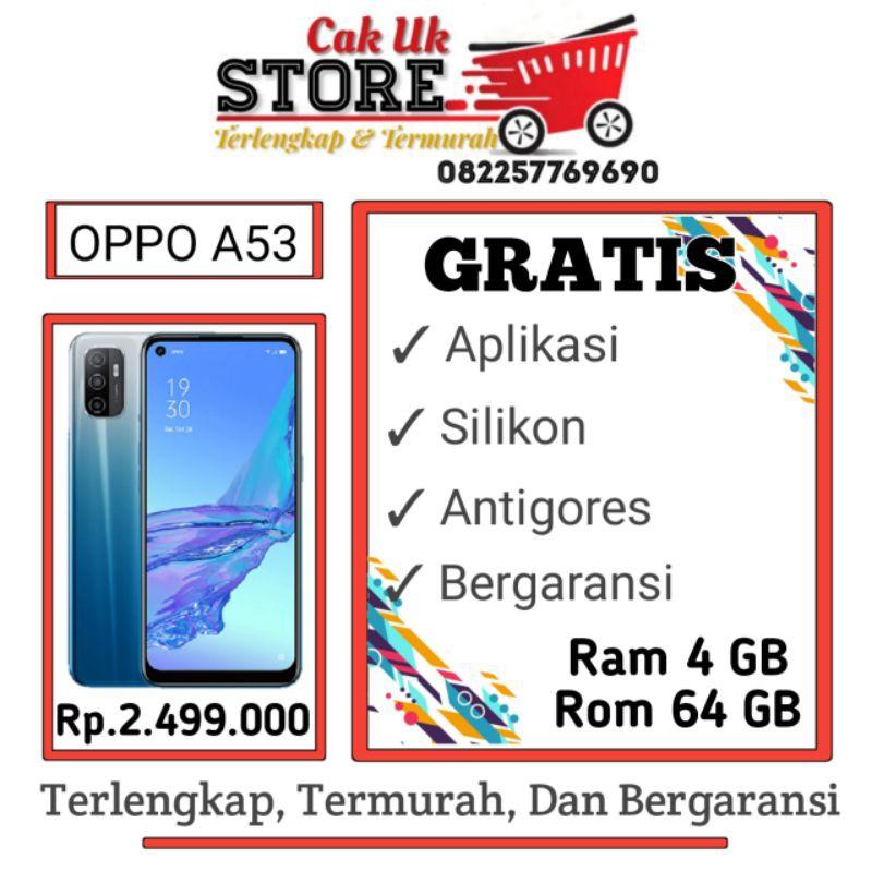 OPPO A53 Ram 4GB Rom 64GB