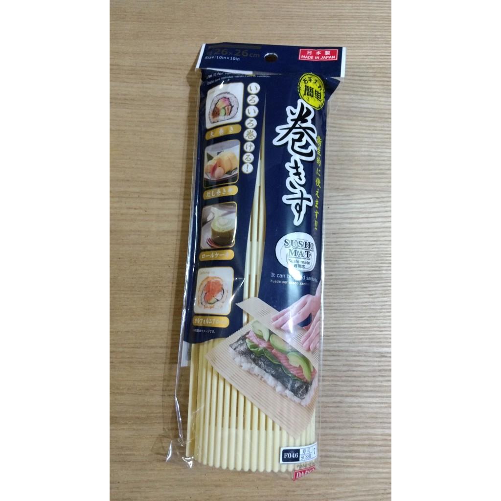 Sushi Mat Roller Maker Alat Penggulung Sushi Gulung Made in Japan | Shopee Indonesia