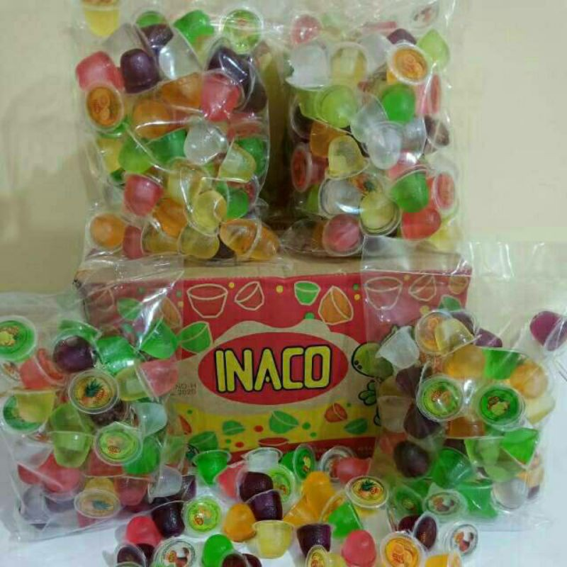 agar agar inaco jelly/inaco mini jelly kiloan