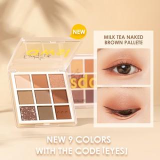 Focallure Palet Eyeshadow 9 Warna Pigmented Lembut thumbnail