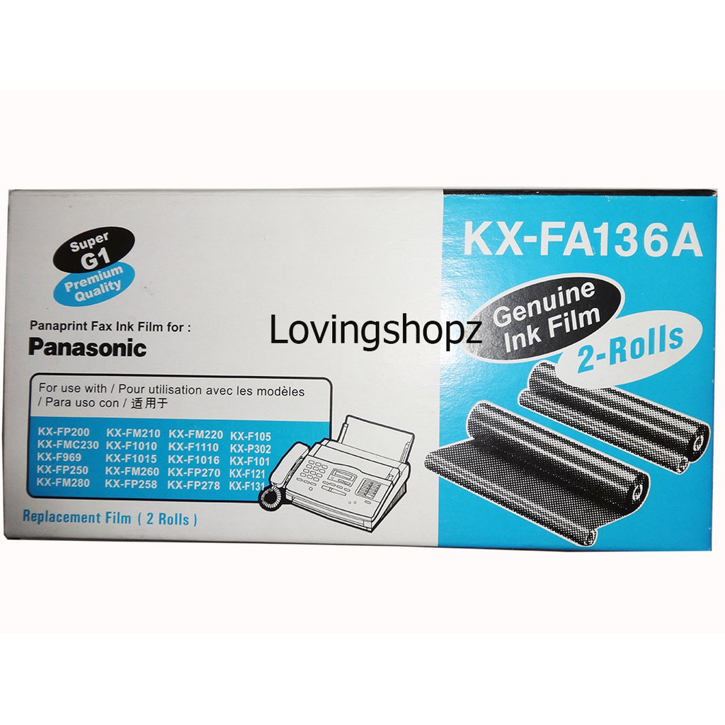 Karbon Fax Panasonic It Film If 93a Shopee Indonesia Machine Kx Ft987cx Facsimile Copy Telephone Answering System
