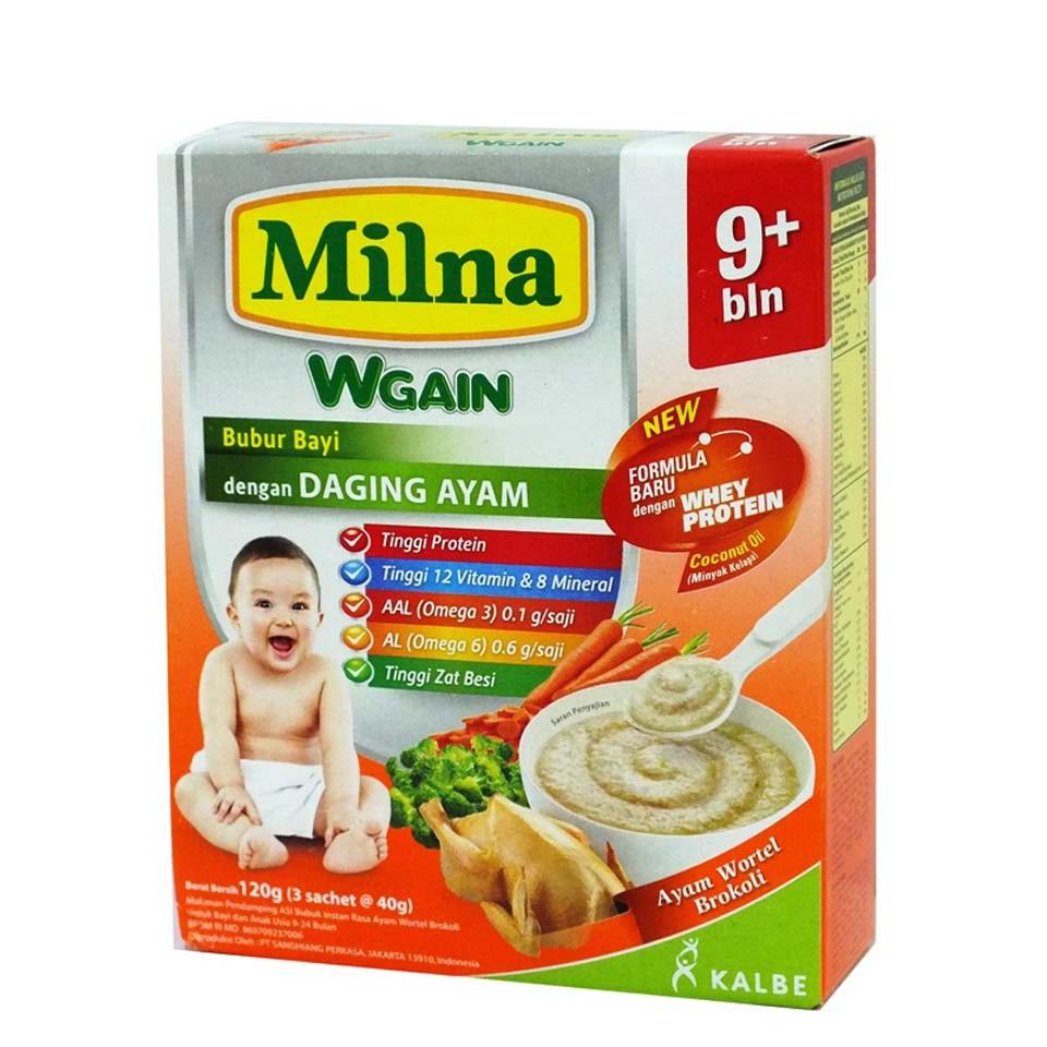 Bubur Bayi Milna 120gr Rasa Semur Daging Kacang Polong Kotak Promina Bc Tim Sapi Wortel Box Shopee Indonesia