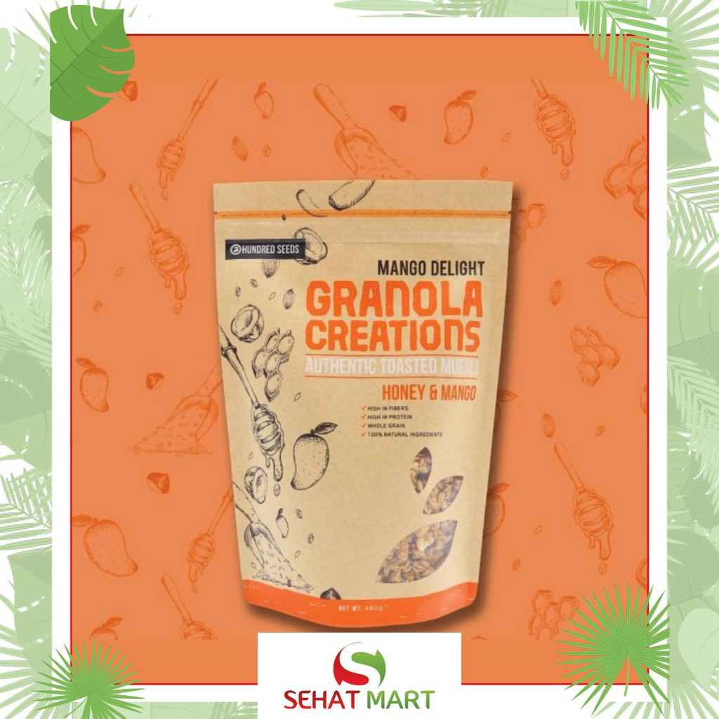 Granola Creations Original Kayu Manis Kismis 480 Gr Shopee Indonesia