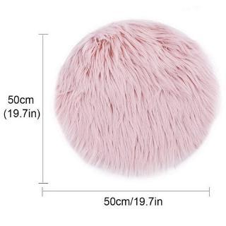 50 cm lembut buatan karpet ruang tamu wol hangat berbulu