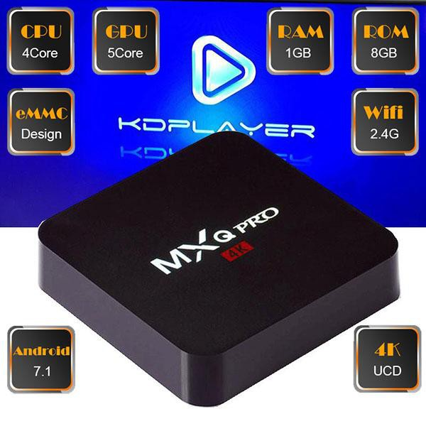 Smart TV Box Android MXQ-PRO 4K