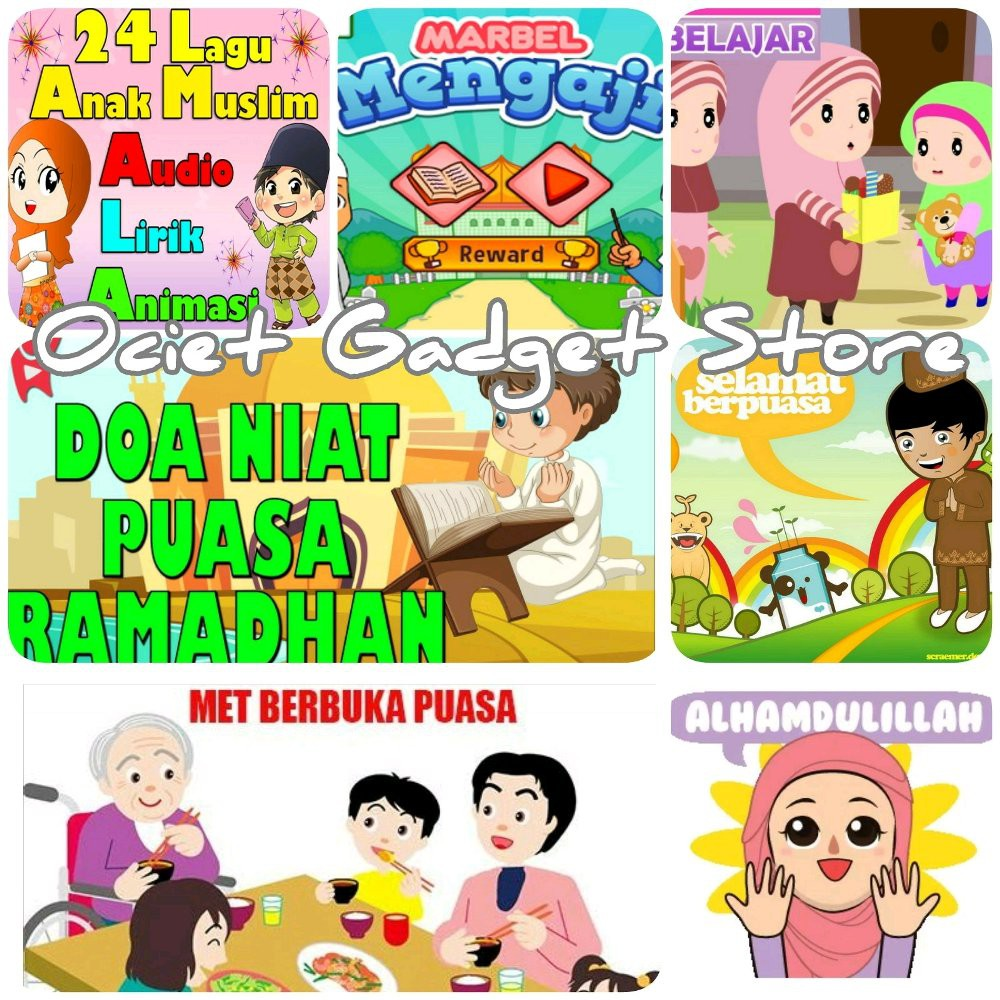 Paket Lengkap Flashdisk 32gb Plus Film Animasi Anak Muslim Bulan Ramdhan Bonus Ebook Mp3 Anak Shopee Indonesia
