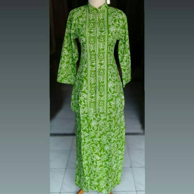 Setelan Batik Wanita Sragam Fatayat Nu Nahdlatyl Ylama