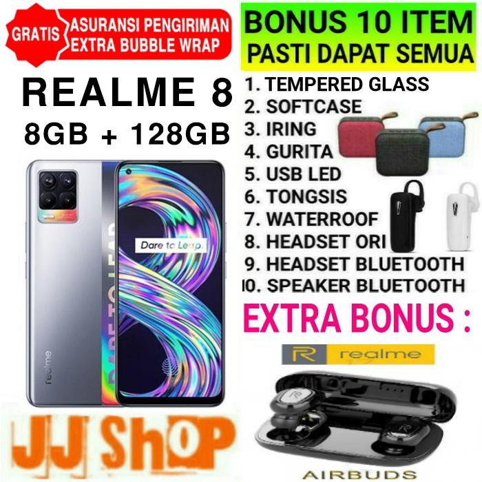 REALME 7 - REALME 7i 8/128 8GB ROM 128GB GARANSI RESMI