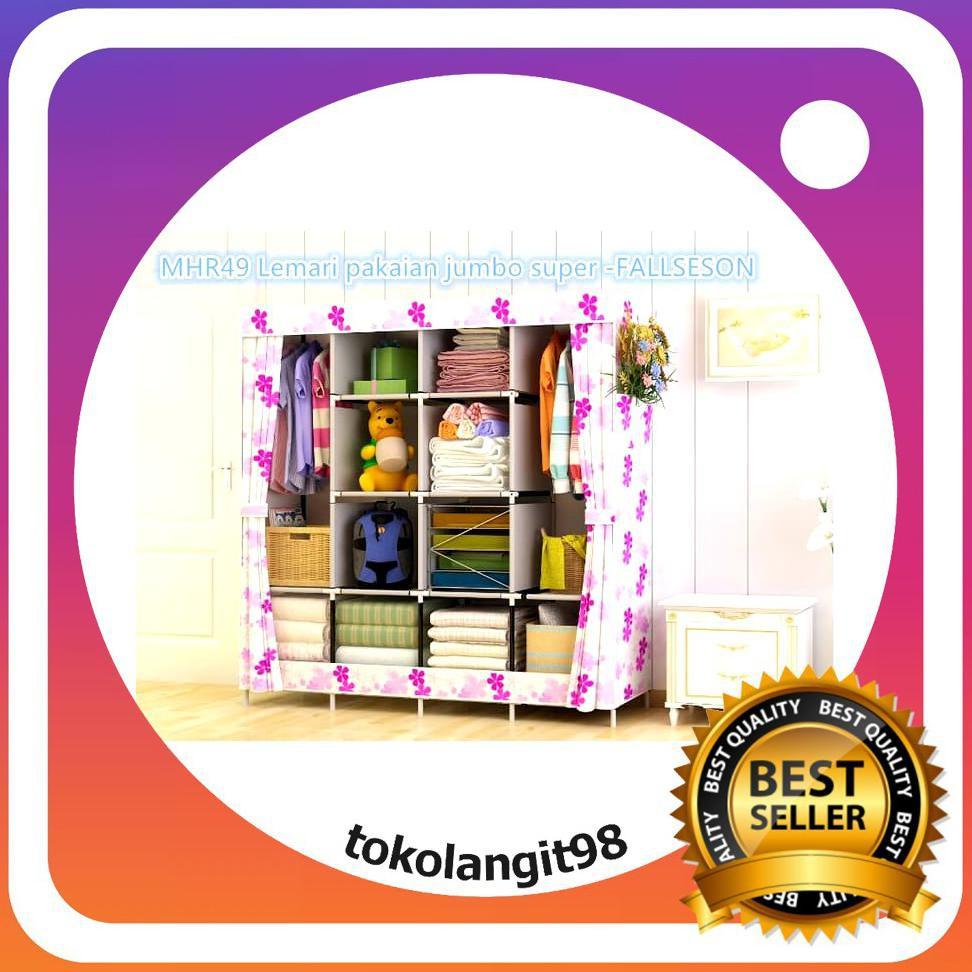 ... pakaian jumbo super Multifunction Wardrobe COWSPOT | Shopee Indonesia. Source · lemari jumbo - Temukan Harga dan Penawaran Furniture Online Terbaik ...