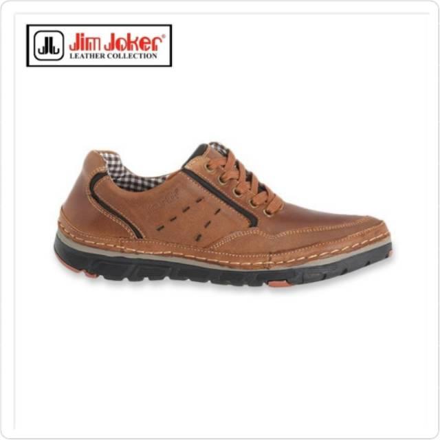 Sepatu Kulit Sneakers Pria Jim Joker Original Mens Leather Horse