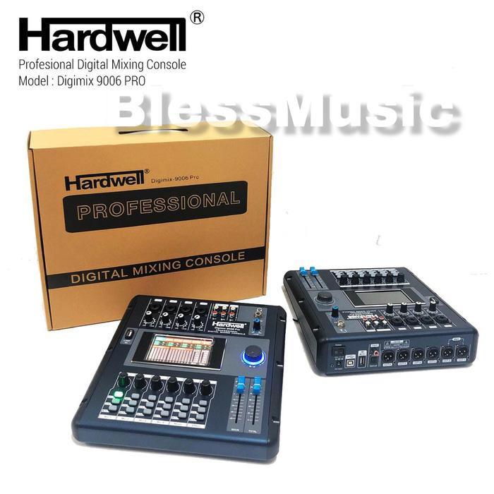 Mixer Audio | Mixer Digital Hardwell Digimix 9006 Pro Original Digital Mixer