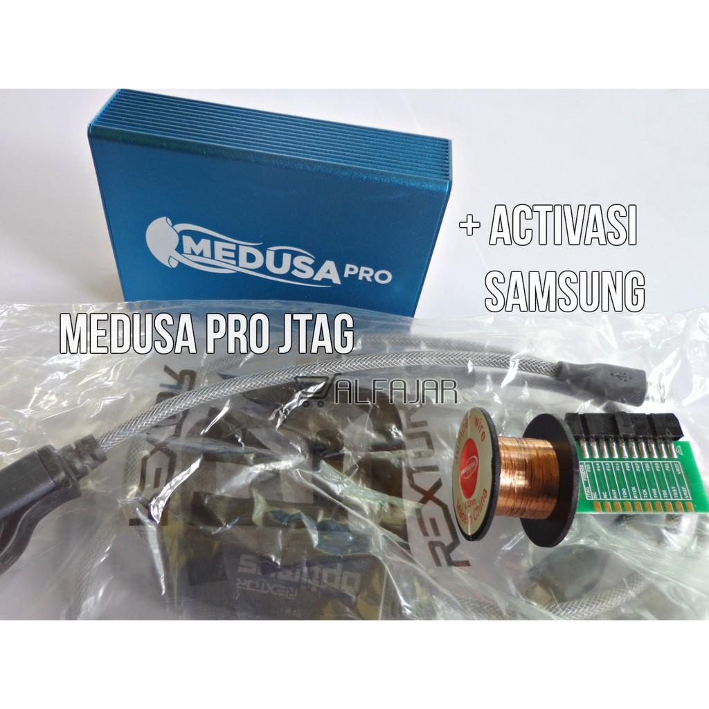 MEDUSA PRO BOX JTAG EMMC ACTIVASI + SAMSUNG + KABEL SET