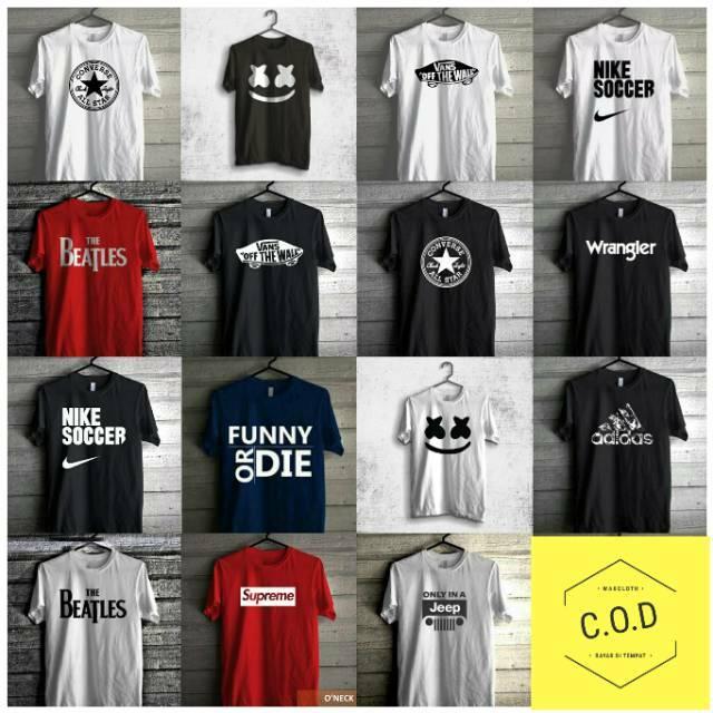 C9 CHAMPION Soft Touch Short Sleeve T-Shirt Original KAOS BIG SIZE ... 4ba133c986