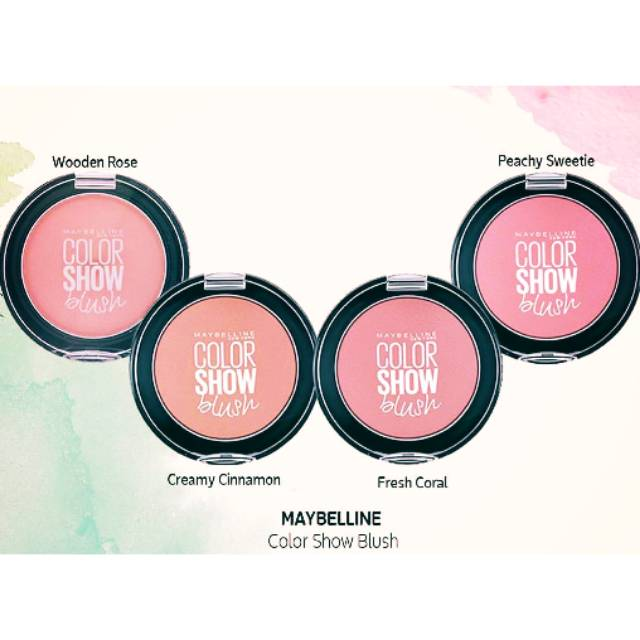 Maybelline Color Show Cheeky Glow Blush .
