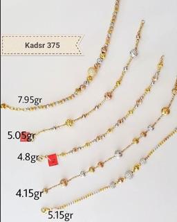 Perhiasan Emas Kadar 375 Gelang Emas Disertai Surat Resmi Toko Mas Jagad Prkalongan Atau Comal