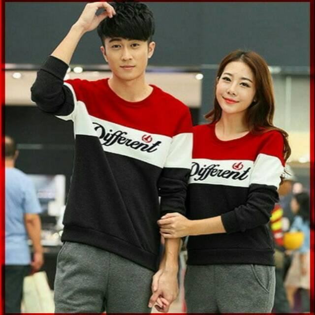 Jaket couple cewek cowok jaket pasangan sweater terbaru termurah couple /CP JKT Soulmate Navy CL | Shopee Indonesia