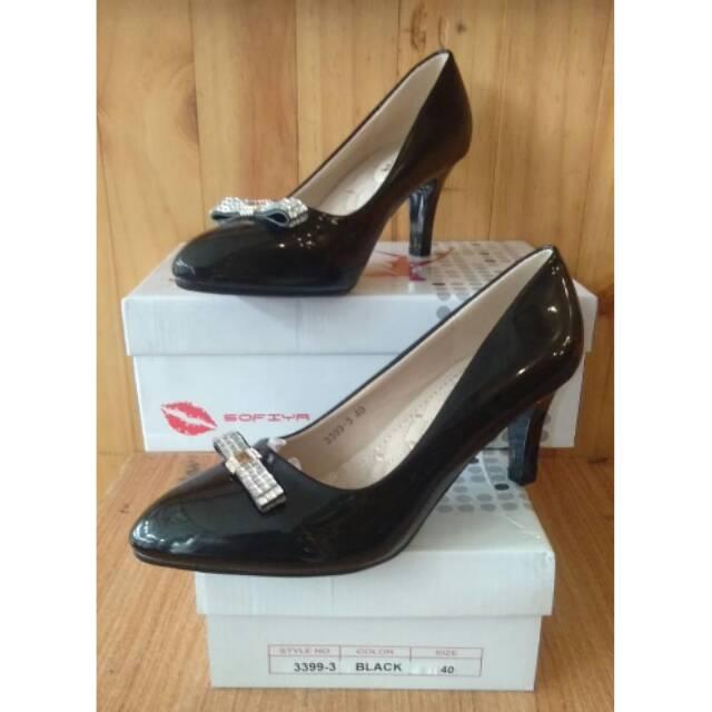 Harga kejutan Sepatu sofiya heels 3399-3 black price checker - only ... ff36e45bed