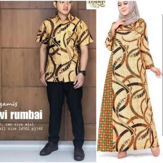 Harga Model Gamis Batik Kombinasi Terbaik Januari 2020
