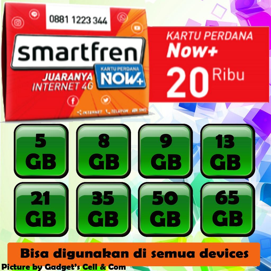 Kartu Perdana Smartfren Super 4g Kuota Unlimited Internet Data Gsm 22 Gb Shopee Indonesia