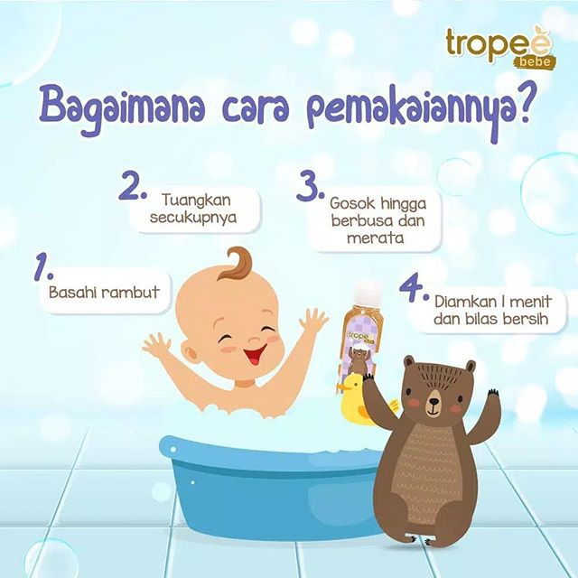 Tropee Bebe Candlenut Shampoo 100ml-1