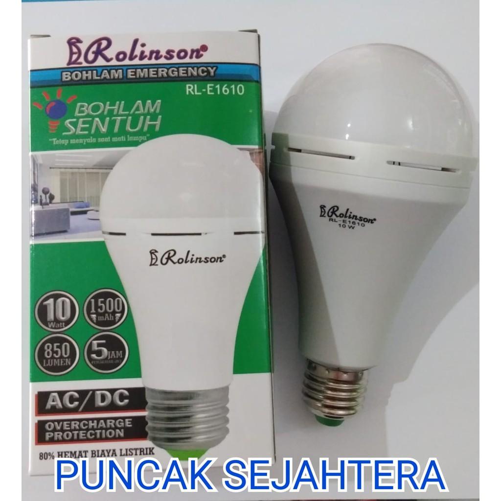 Lampu Led Remote Emergency Darurat Tetap Hidup Jika Mati Listrik Hannochs Genius Ac Dc 10w Shopee Indonesia