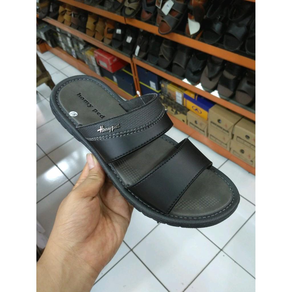 Sandal Homyped Hak Sherlen N 63 Shopee Indonesia Pria Confero 01 Tan Cokelat Muda 42