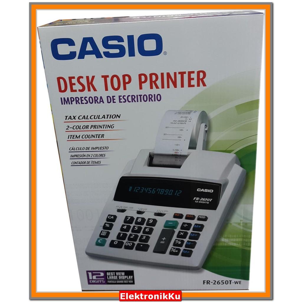 Kertas Struk Kalkulator Kasir CASIO .