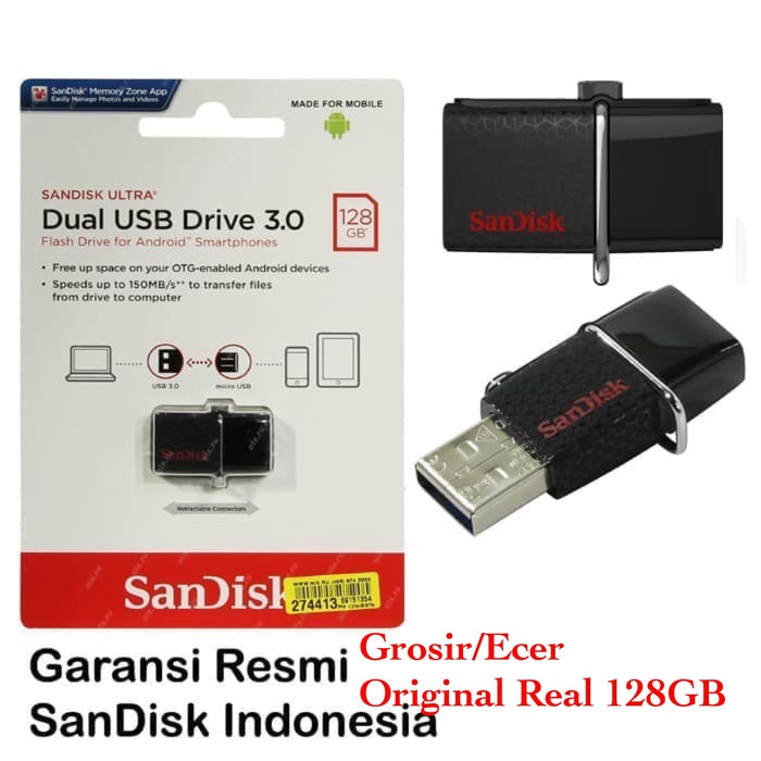 [Free Ongkir]Flashdisk SanDisk OTG Type C 64gb USB 3.1 Up To 150MBps   Shopee Indonesia