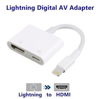 Cod Lightning To Digital Av Tv Hdmi Cable Adapter For Ipad