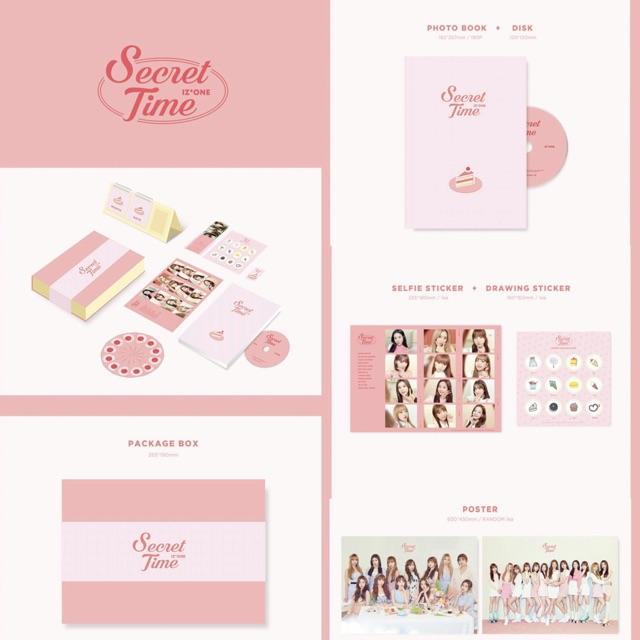 [DpRegPo] IZ*ONE / IZONE 1st Official Photobook - Secret Time  (bacadeskripsidulu)