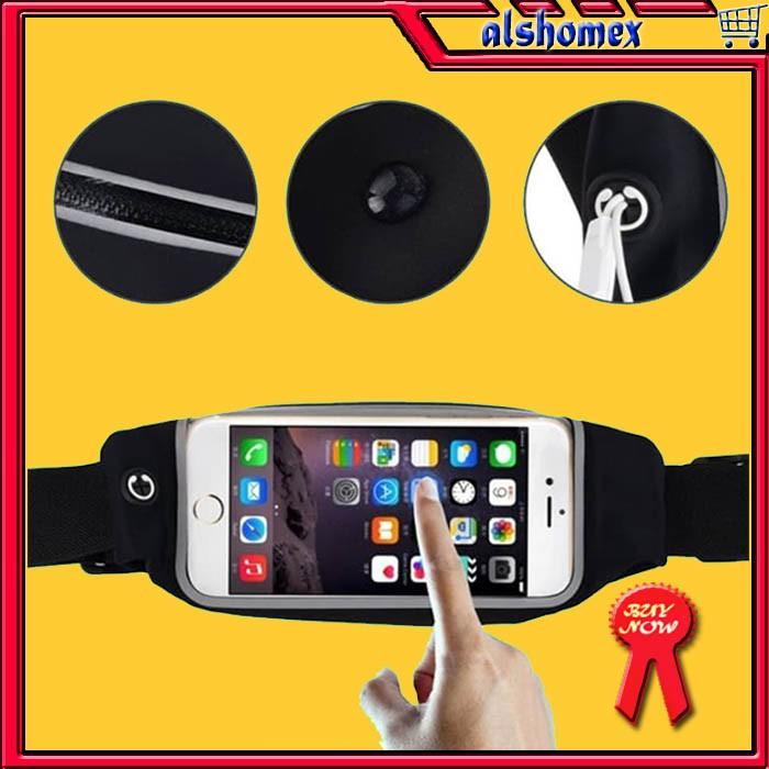 AL680 Tas Pinggang Olahraga Smartphone Android Iphone Anti Air Touchscreen  outdoor hobby