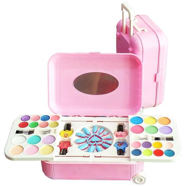 Mainan Alat Make Up Anak Hello Kitty The Nail Art (Koper
