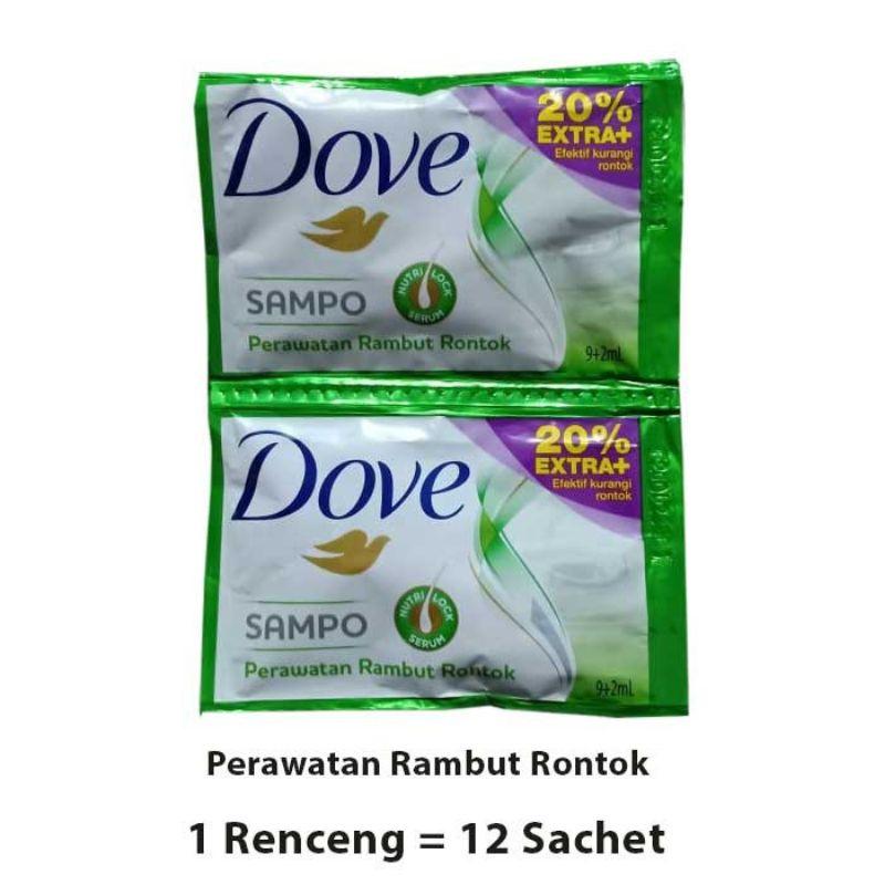 R&B Shampo Dove  Sachet 1 Renceng 12-2
