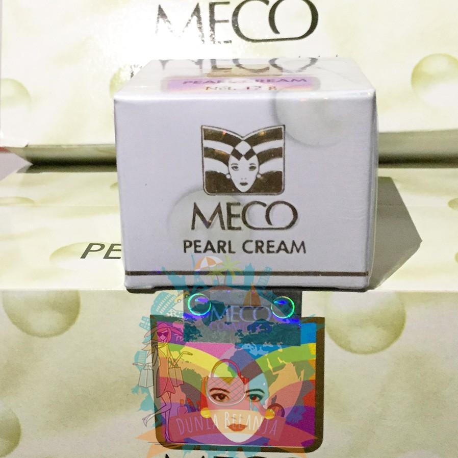Promo Belanja Mecopearlcream Online Oktober 2018 Shopee Indonesia Krim Muka Meco Lightening Cream 4gr