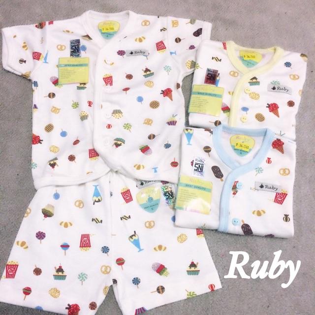 108 Gaya Baju Bayi Merk Ruby Paling Bagus