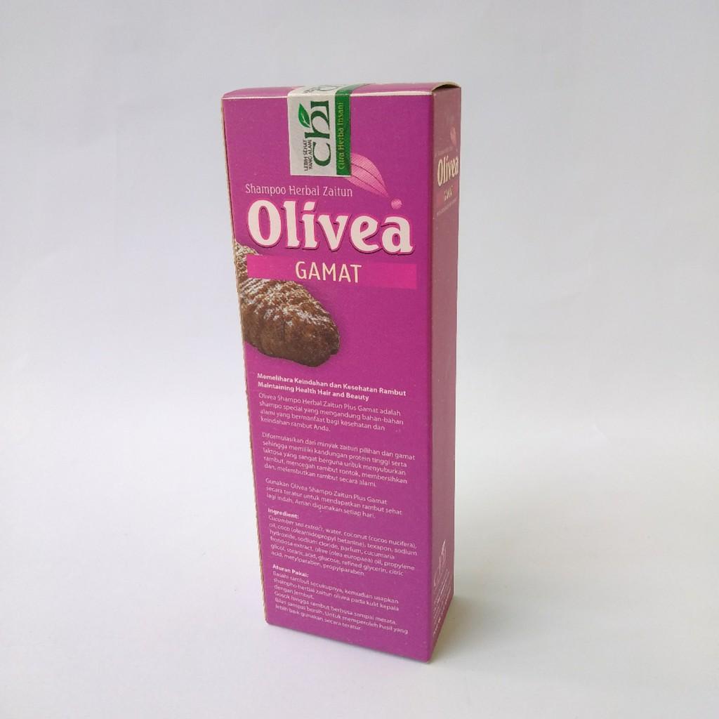 Shampoo Zaitun Gamat Herbal Olivea Mengatasi Ketombe dan Menyuburkan Rambut 120ml-1