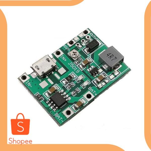 Modul charger TP4056 5V 1A plus modul stepup 5V 9V 12V 2A accessories