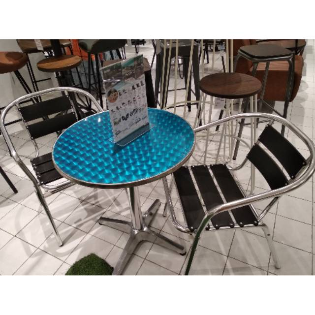 Gotzon Alba Table Set By Informa Kursi Teras Informa Murah Meja Teras Kursi Taman Informa Shopee Indonesia