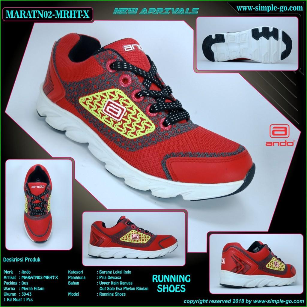 Rafa sepatu running wanita jean 1203 37-40  d3852bf29f