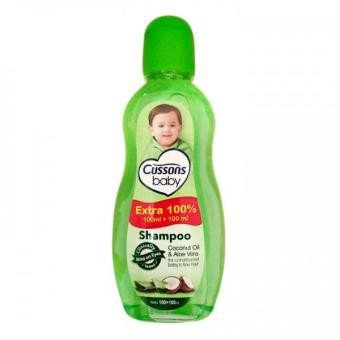 ORIGINAL Cussons Baby Shampoo 100ml+100 ml & 50ml+50ml / Cusson Shampoo Bayi / LEDI MART-2