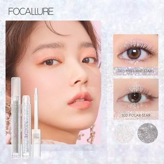 Focallure Eyeshadow Cair 5 Warna Pigmen Tinggi Ringan Cepat Kering Untuk Makeup thumbnail
