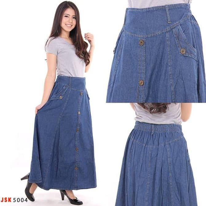 Home · Sb Collection Rok Panjang Renata Long Skirt Biru Tua 01; Page - 6
