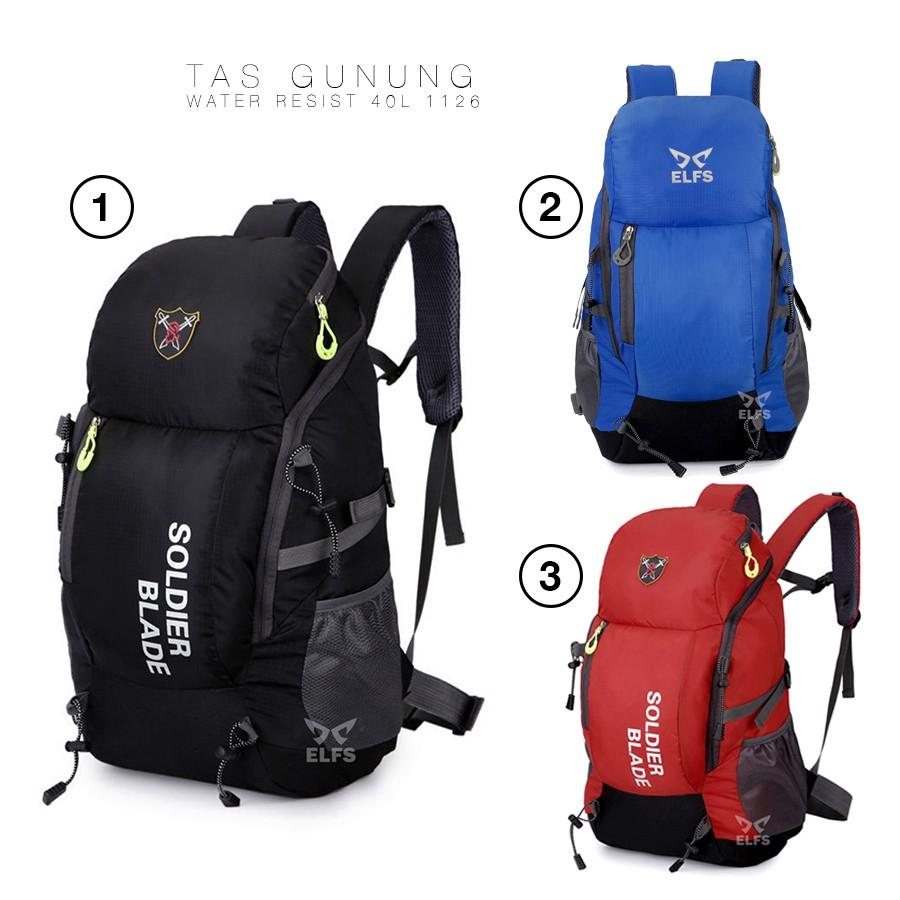 Tas carrier 60 L waterproof - tas gunung - tas besar - travel bag - tas jumbo - tas hiking | Shopee Indonesia