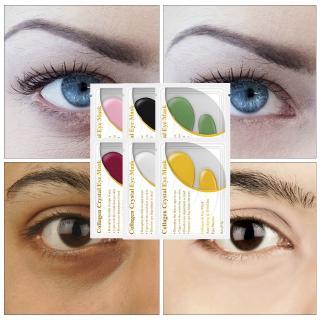 LANBENA 24K Masker Mata Kolagen Emas untuk Anti Aging Kerut 1