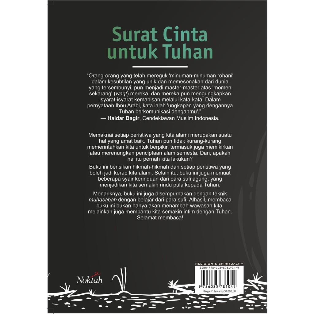 Surat Cinta Untuk Tuhan Noktah Shopee Indonesia