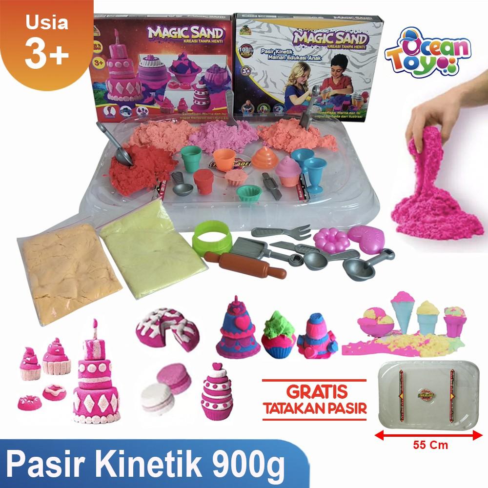 Pasir Kinetik/pasir ajaib paket box 1,1 kg Mainan Anak Murah / Grosir Mainan Anak Murah | Shopee Indonesia